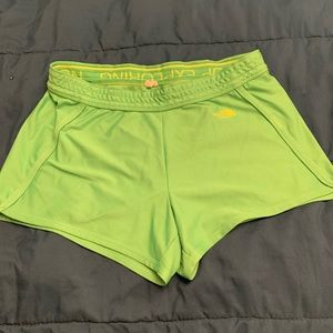 North Face athletic shorts